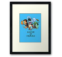 Legend of Squirtle Framed Print