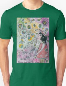 Bubbles make your soul smile Unisex T-Shirt