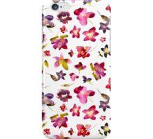 Watercolor flowers iPhone Case/Skin