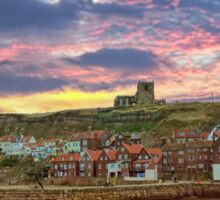 Whitby Abbey Sticker