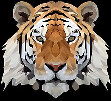 Crystalline Tiger by Marshall Diveley