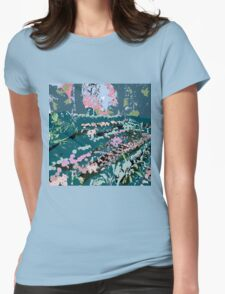 Dusk at the Deccan Plateau Womens Fitted T-Shirt