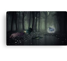 Mysterious Reflection  Canvas Print