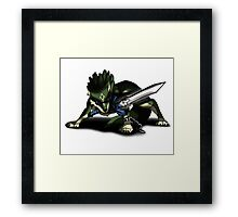 Great Wolf Link Framed Print
