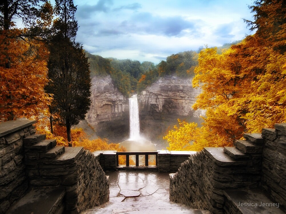 Taughannock Falls 2 by Jessica Jenney