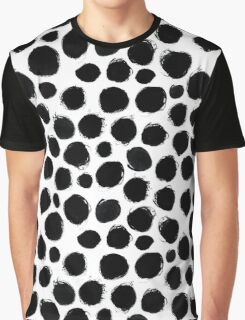 Ink circles pattern Graphic T-Shirt