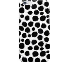 Ink circles pattern iPhone Case/Skin
