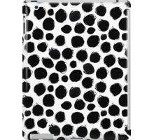 Ink circles pattern iPad Case/Skin
