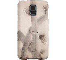 Sumi-E Close Up Segments and Leaves Samsung Galaxy Case/Skin