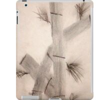 Sumi-E Close Up Segments and Leaves iPad Case/Skin