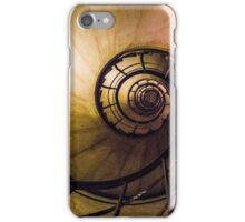 Spiral Staircase in the Arc de Triomphe iPhone Case/Skin