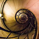 Spiral Staircase in the Arc de Triomphe by MichaelJP