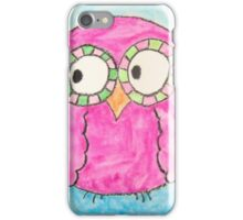 Pink Ocular Bird iPhone Case/Skin