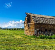 Barn on a Farm by MichaelJP