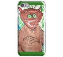Displeased Rodent iPhone Case/Skin
