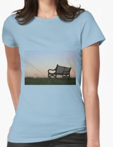 Sit Down and Forget The World Womens Fitted T-Shirt