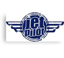 Jet Pilot Canvas Print
