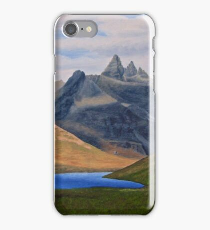 Black Cuillin iPhone Case/Skin