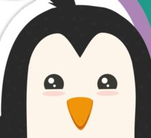 Rainbow Penguin   Sticker