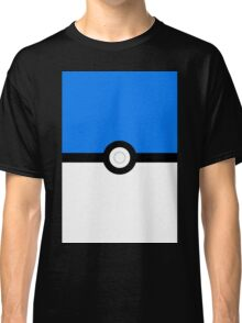 pokemon mystic team pokeball blue Classic T-Shirt
