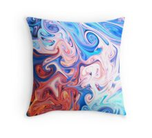 Psychedelica Throw Pillow