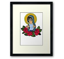 Tina Virgin Mary Framed Print