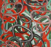 Circles and the rabbit  by DARSHA83