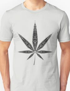 Hanf Blatt Unisex T-Shirt