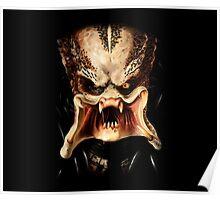 Predator face Poster