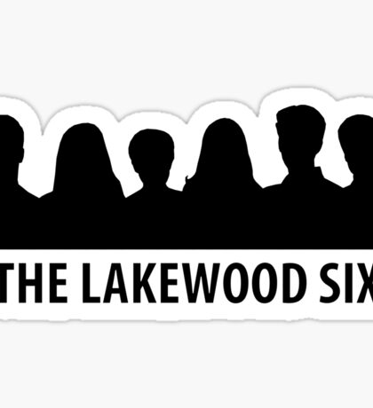 Scream - The Lakewood Six Sticker