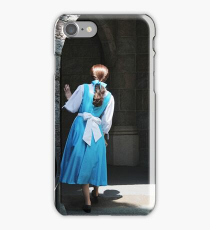 A Beauty But A Funny Girl iPhone Case/Skin