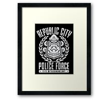 Republic City Police Force Framed Print