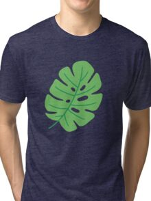 Jungle Leaves Tri-blend T-Shirt