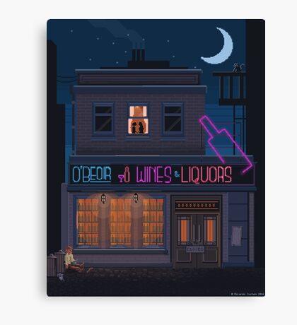 Love, liquor and deception Canvas Print