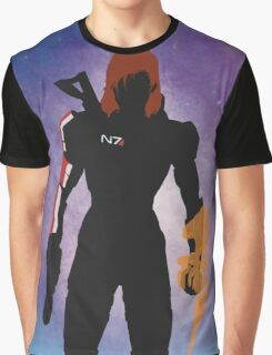 Mass Effect - Fem Shep Minimal  Graphic T-Shirt
