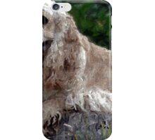 Cocker Spaniel Blonde Portrait   iPhone Case/Skin