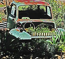 Garden Truck by Marilyn Harris