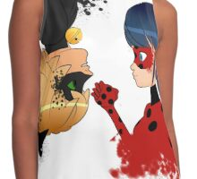 Ladybug y Chat noir Contrast Tank