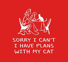 SORRY I CAN'T, I HAVE PLANS WITH MY CAT Unisex T-Shirt