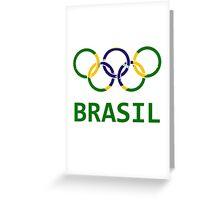 Brasil Olympic Greeting Card
