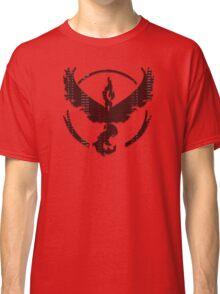 Pokemon GO: Team Valor (Red) - Word I Classic T-Shirt