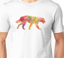 Maremma Abruzzes Sheepdog in watercolor Unisex T-Shirt