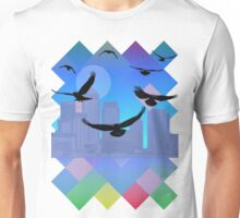 An Unkindness of Ravens (With colours) Unisex T-Shirt