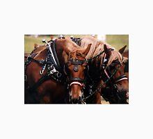 Draft Horses In Harness   Unisex T-Shirt