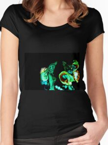 Cali Dancers In Andalucia, Colombia IV Women's Fitted Scoop T-Shirt
