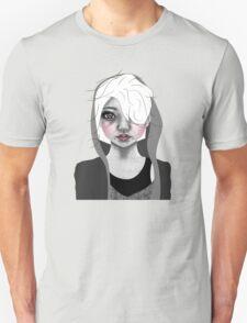 009 Platinum Hair & a Grey Hoodie Unisex T-Shirt