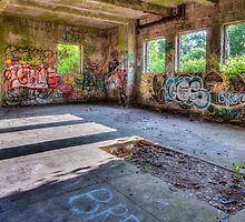 Brenton Point Stables Abandoned 4 by Joshua McDonough