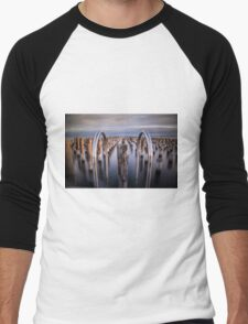 Princes Pier, Port Melbourne Men's Baseball ¾ T-Shirt