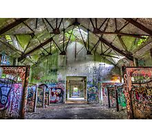 Brenton Point Stables Abandoned 5 Photographic Print