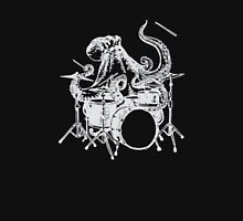 Octopus Playing Drums Funny Unisex T-Shirt
